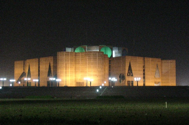 Jatiyo Sangsad Bhaban ( Parlament Building of Bangladesh)